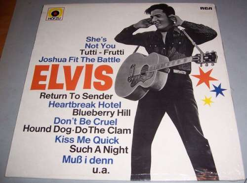 Cover Elvis Presley - Golden Boy Elvis (LP, Comp, RE) Schallplatten Ankauf
