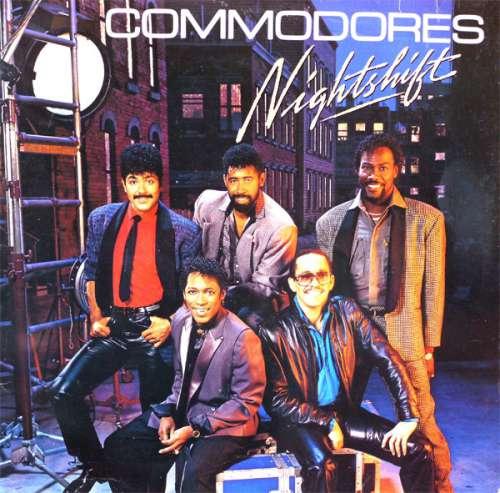 Cover zu Commodores - Nightshift (LP, Album) Schallplatten Ankauf