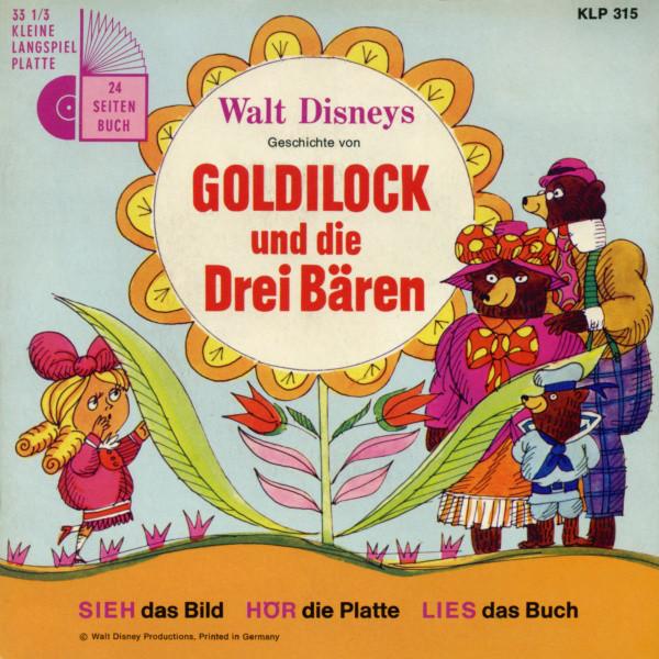 Cover Irene Koss, Various - Goldilock Und Die Drei Bären (7) Schallplatten Ankauf
