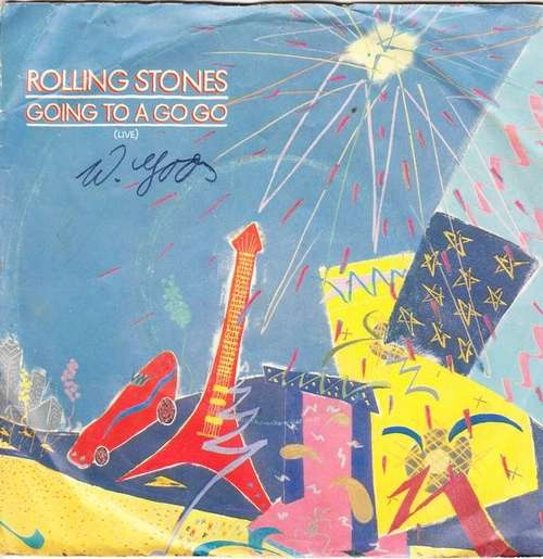 Cover Rolling Stones* - Going To A Go Go (Live) (7, Single) Schallplatten Ankauf