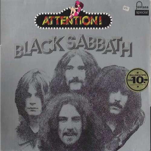 Cover Black Sabbath - Attention! Black Sabbath! (LP, Comp) Schallplatten Ankauf