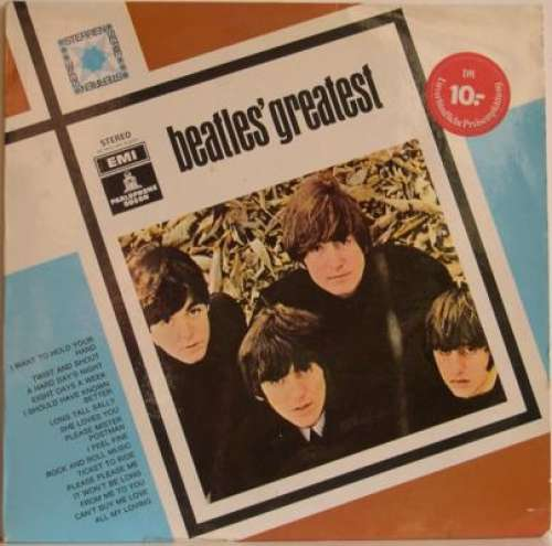 Cover The Beatles - Beatles' Greatest (LP, Comp, RE) Schallplatten Ankauf