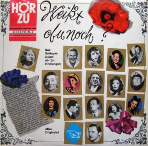 Cover Various - Weißt Du Noch? Das Schlageralbum Der Erinnerungen (LP) Schallplatten Ankauf
