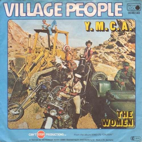Cover Village People - Y.M.C.A. (7, Single) Schallplatten Ankauf