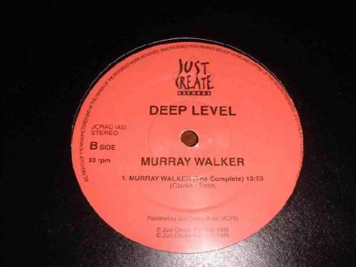 Cover Deep Level - Murray Walker / Cabbage White (12) Schallplatten Ankauf