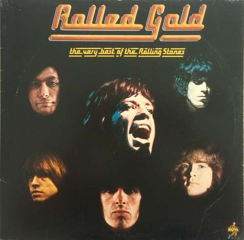 Cover The Rolling Stones - Rolled Gold - The Very Best Of The Rolling Stones (2xLP, Comp, Gat) Schallplatten Ankauf
