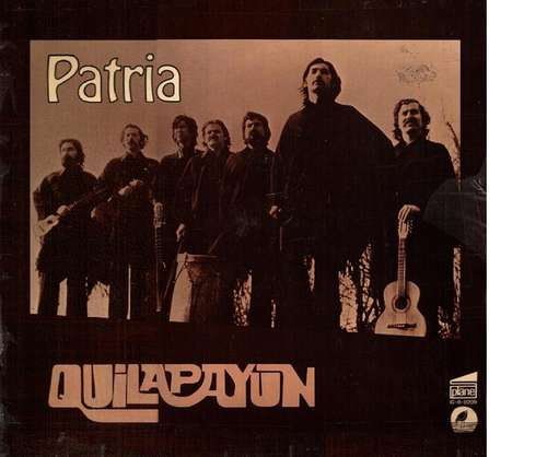 Cover Quilapayún - Patria (LP, Album) Schallplatten Ankauf