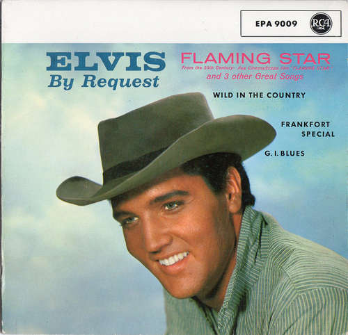 Cover Elvis Presley With The Jordanaires - Flaming Star (7, EP) Schallplatten Ankauf