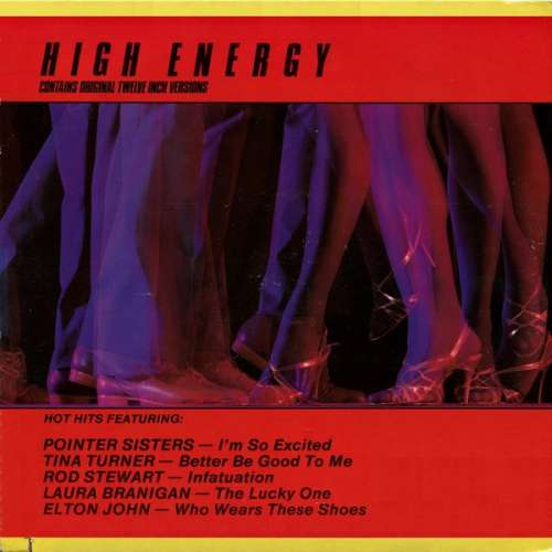 Bild Various - High Energy (LP, Comp) Schallplatten Ankauf