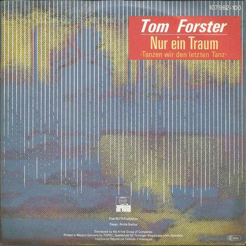 Bild Tom Forster (4) - Nur Ein Traum (7, Single) Schallplatten Ankauf