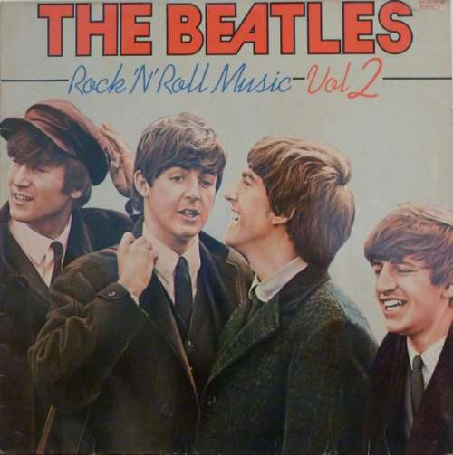 Cover The Beatles - Rock 'N' Roll Music Vol 2 (LP, Comp) Schallplatten Ankauf