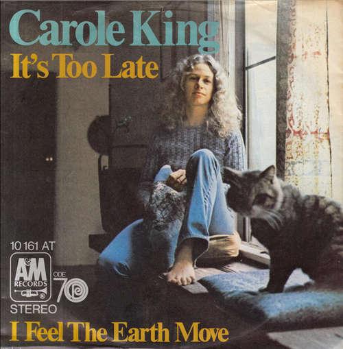 Bild Carole King - It's Too Late (7, Single) Schallplatten Ankauf