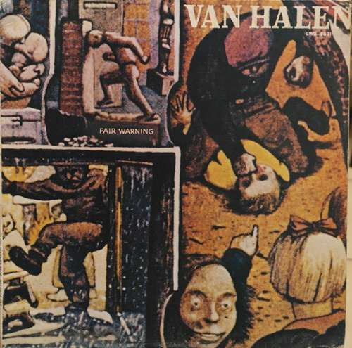 Cover zu Van Halen - Fair Warning (LP, Album) Schallplatten Ankauf