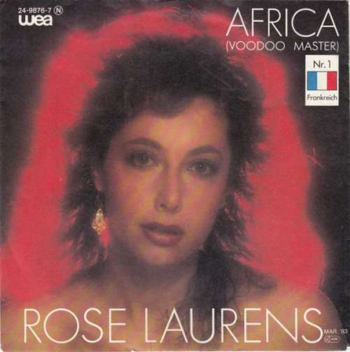 Bild Rose Laurens - Africa (Voodoo Master) (7, Single) Schallplatten Ankauf