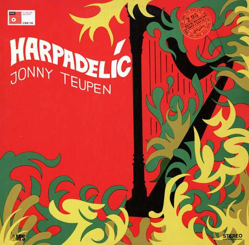 Cover Jonny Teupen - Harpadelic (LP, Album, RP) Schallplatten Ankauf