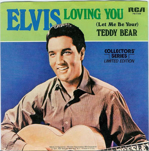 Cover Elvis Presley - Loving You / (Let Me Be Your) Teddy Bear (7, Mono, Ltd, RE) Schallplatten Ankauf