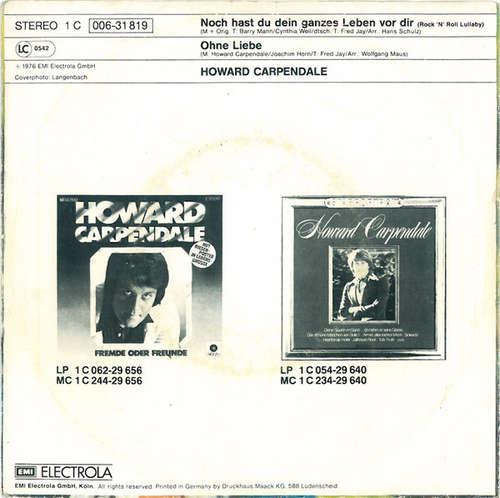 Howard Carpendale - Noch Hast Du Dein Ganzes Leben Vor Dir