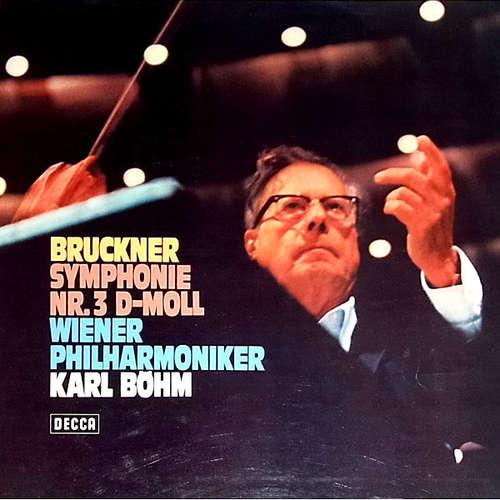 Cover zu Bruckner* - Wiener Philharmoniker, Karl Böhm - Symphony No.3 (LP, Album) Schallplatten Ankauf