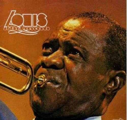 Cover Louis Armstrong - Louis At The Crescendo (2xLP, Album) Schallplatten Ankauf