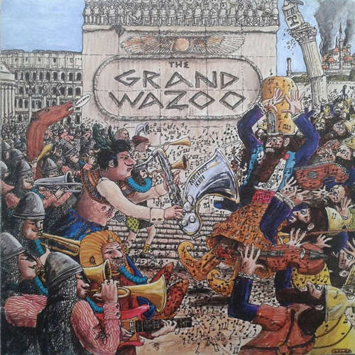 Cover The Mothers - The Grand Wazoo (LP, Album, RE, Gat) Schallplatten Ankauf