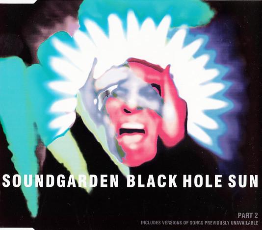 Cover Soundgarden - Black Hole Sun (CD, Maxi, Par) Schallplatten Ankauf