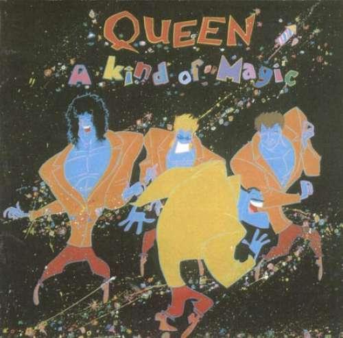 Cover Queen - A Kind Of Magic (LP, Album, Gat) Schallplatten Ankauf