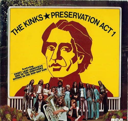 Cover The Kinks - Preservation Act 1 (LP, Album) Schallplatten Ankauf