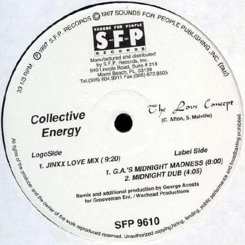 Bild Collective Energy - The Love Concept (12) Schallplatten Ankauf