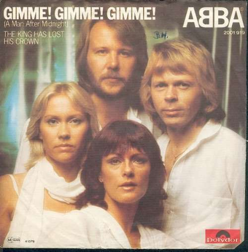 Cover zu ABBA - Gimme! Gimme! Gimme! (A Man After Midnight) (7, Single) Schallplatten Ankauf