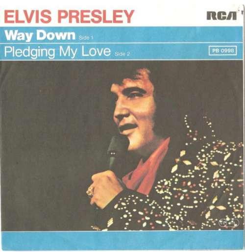 Cover Elvis Presley - Way Down (7, Single) Schallplatten Ankauf
