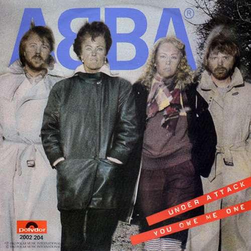 Bild ABBA - Under Attack / You Owe Me One (7, Single) Schallplatten Ankauf