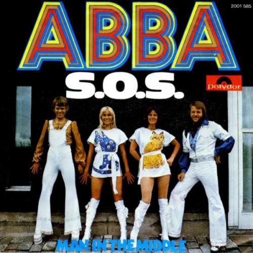 Cover zu ABBA - S.O.S. (7, Single) Schallplatten Ankauf