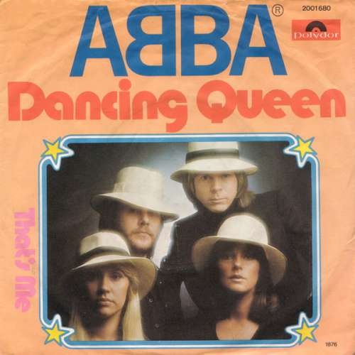 Cover ABBA - Dancing Queen (7, Single) Schallplatten Ankauf