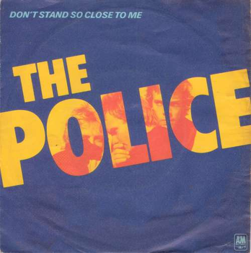 Cover The Police - Don't Stand So Close To Me (7, Single, Bla) Schallplatten Ankauf