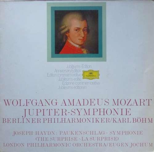 Bild Wolfgang Amadeus Mozart, Berlin Philharmonic* / Karl Böhm, Joseph Haydn, The London Philharmonic Orchestra / Eugen Jochum - Symphony Nr. 41 In C Major (Jupiter) / Symphony Nr. 94 In G Major (The Surprise) (LP) Schallplatten Ankauf