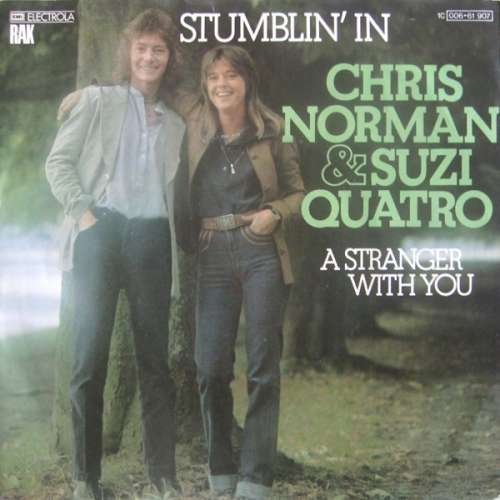 Cover zu Chris Norman & Suzi Quatro - Stumblin' In (7, Single) Schallplatten Ankauf