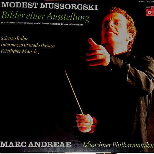 Bild Marc Andreae - Modest Mussorgsky - Münchner Philharmoniker - Bilder Einer Ausstellung (LP, Album) Schallplatten Ankauf