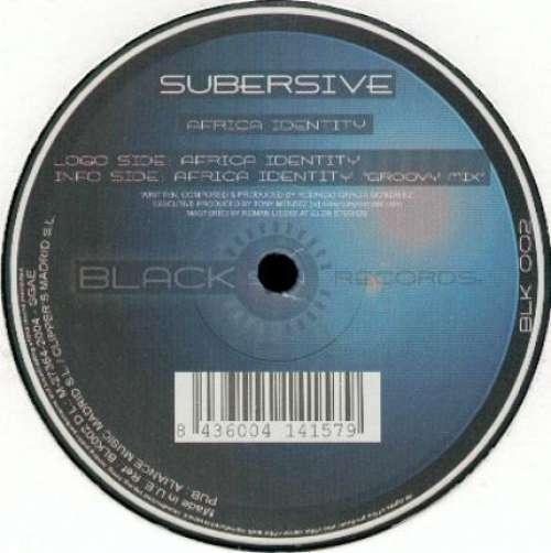 Cover zu Subersive - Africa Identity (12) Schallplatten Ankauf