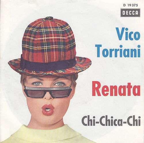 Cover zu Vico Torriani - Renata (7, Single) Schallplatten Ankauf