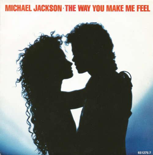 Cover Michael Jackson - The Way You Make Me Feel (7, Single) Schallplatten Ankauf