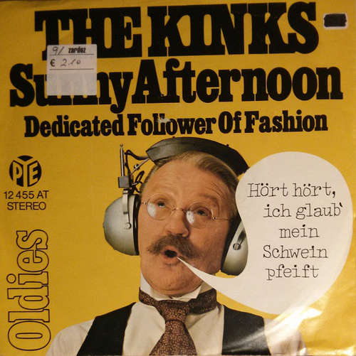 Cover The Kinks - Sunny Afternoon / Dedicated Follower Of Fashion (7, Single) Schallplatten Ankauf