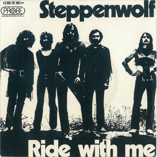 Cover zu Steppenwolf - Ride With Me (7) Schallplatten Ankauf
