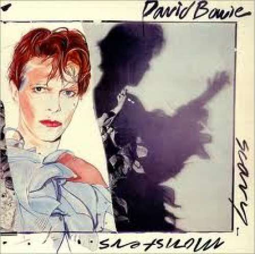 Cover David Bowie - Scary Monsters (LP, Album, Club) Schallplatten Ankauf