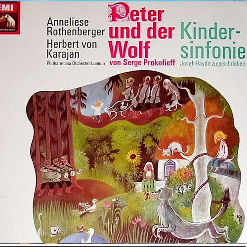 Bild Philharmonia Orchester London* - Herbert von Karajan - Peter Und Der Wolf / Kindersinfonie (LP, Comp) Schallplatten Ankauf