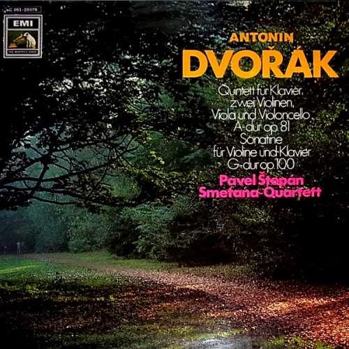 Bild Antonín Dvořák - Pavel Štěpán - Jiří Novák (2) - Smetana Quartet - Klavierquintett / Violinsonatine (LP, Album) Schallplatten Ankauf
