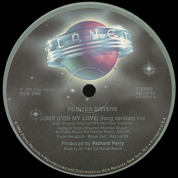 Bild Pointer Sisters - Jump (For My Love) (12, Single) Schallplatten Ankauf