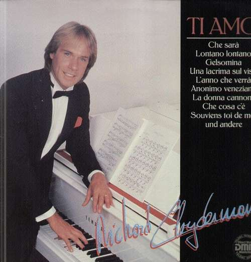 Cover zu Richard Clayderman - Ti Amo (LP, Comp, DMM) Schallplatten Ankauf