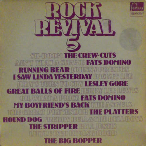 Cover zu Various - Rock Revival 5 (LP, Comp) Schallplatten Ankauf