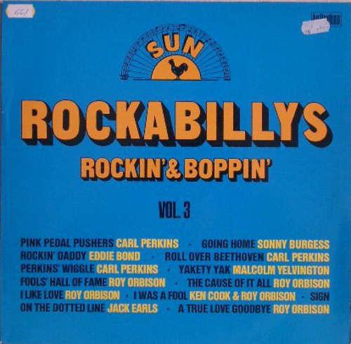 Cover Various - Sun Rockabillys - Rockin' & Boppin' (LP, Comp) Schallplatten Ankauf