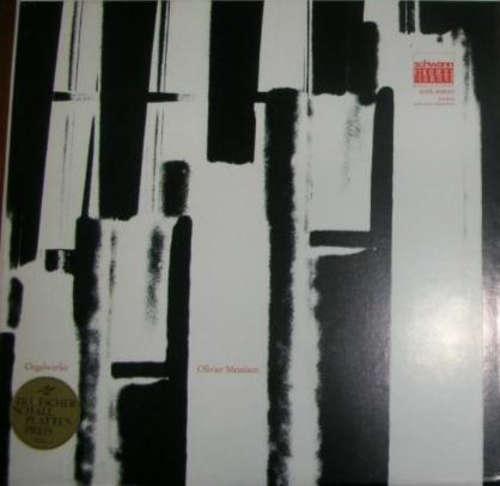Cover Olivier Messiaen - Gaston Litaize - Orgelwerke (2xLP, Album + Box) Schallplatten Ankauf